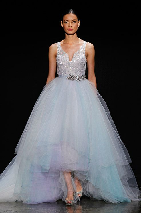 15 best Lazaro Bridal images on Pinterest   Wedding frocks, Short ...