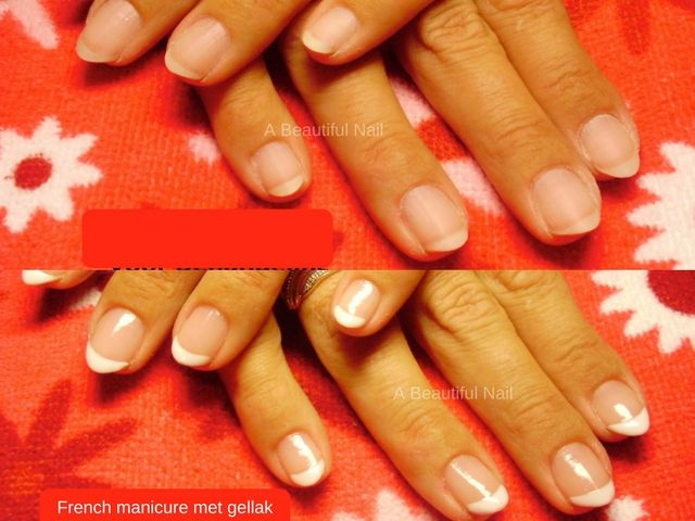 French Manicure #Frenchmanicure #Gellak #Handen #Nails