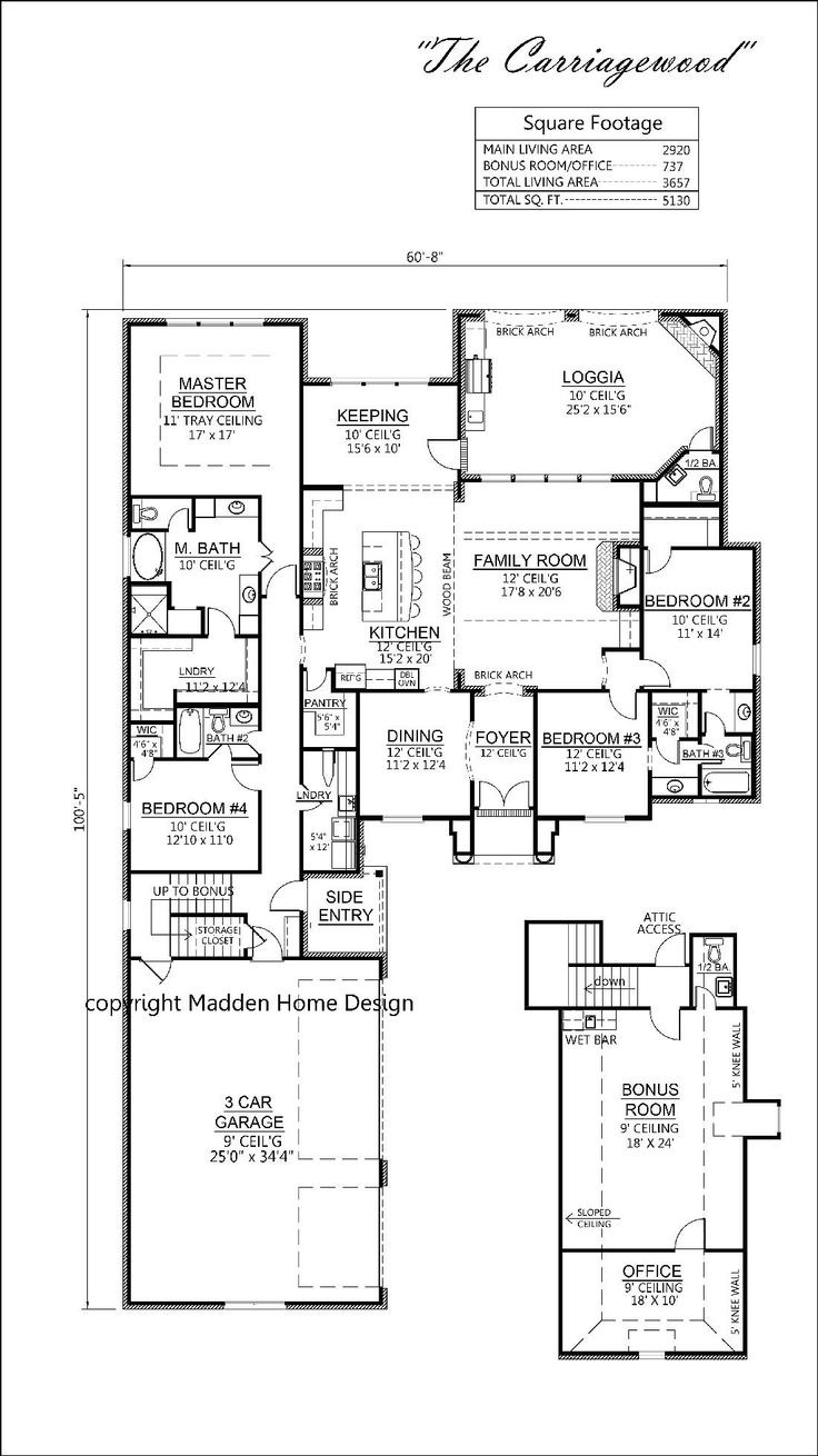 Best Images About Floor Plans On Pinterest - Country homes designs floor plans