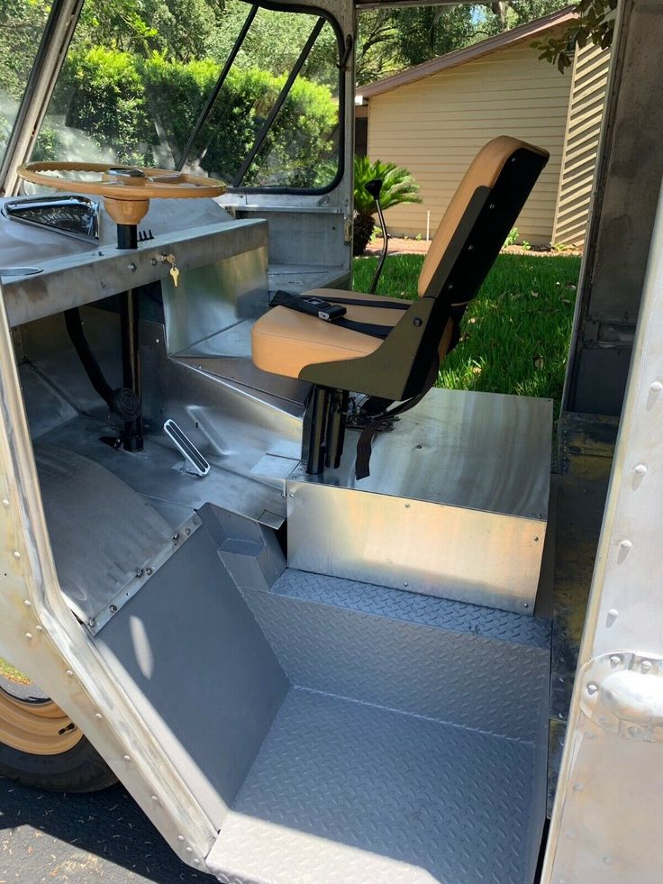 1957 Grumman Olson Kurbside Step Van Custom Hot Rod Air