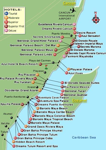 "Valentin Imperial Riviera Maya Resort Map | 60 hotels found in ""All Hotels"" in Riviera Maya"