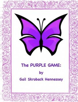 Looking for a Friday activity,something for your students to do with a substitute or following testing time? Maybe you'd like a learning challenge for over the summer months.Check out my PURPLE Game. THERE are 17 statements in the Purple Game Challenge.  You can do this activity in one class, over a couple of days if being used as a end of the period activity or over a couple of days, if you wish to do the extension activities. $2