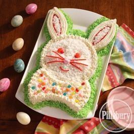Happy Bunny Cake from Pillsbury BakingHappy Bunnies, Cake Recipe, Food Dinner, Bunnies Cake, Easter Cake, Easter Bunnies, Easter Spr, Birthday Cake, Easter Ideas