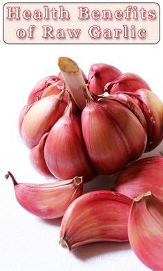 Health Benefits Of Raw Garlic http://fitering.com/raw-garlic-health-benefits/