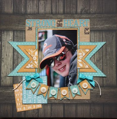 Love the barn door background and the LO #page# layout #scrapbooking