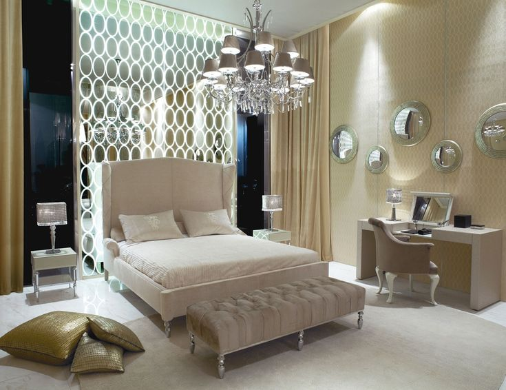 Hollywood luxe interiors designer furniture beautiful for Hollywood bedroom designs