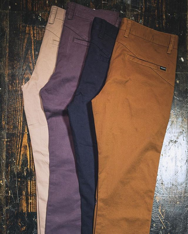 Stocking up on @Volcom's chinos. #RealLifeHappening #Tillys