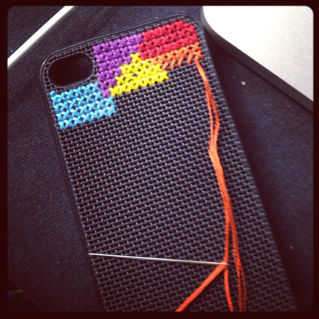 Sewing new iPhone cover