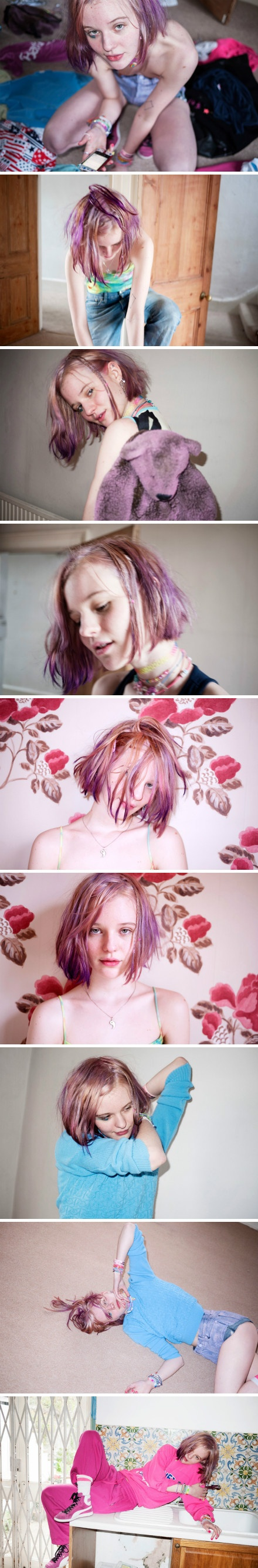 best hair dye images on pinterest colourful hair cabello de