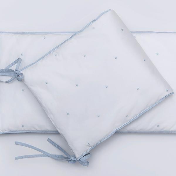 Petite Vigogne- Crib bumper- Bleu collection - Bleu bumper