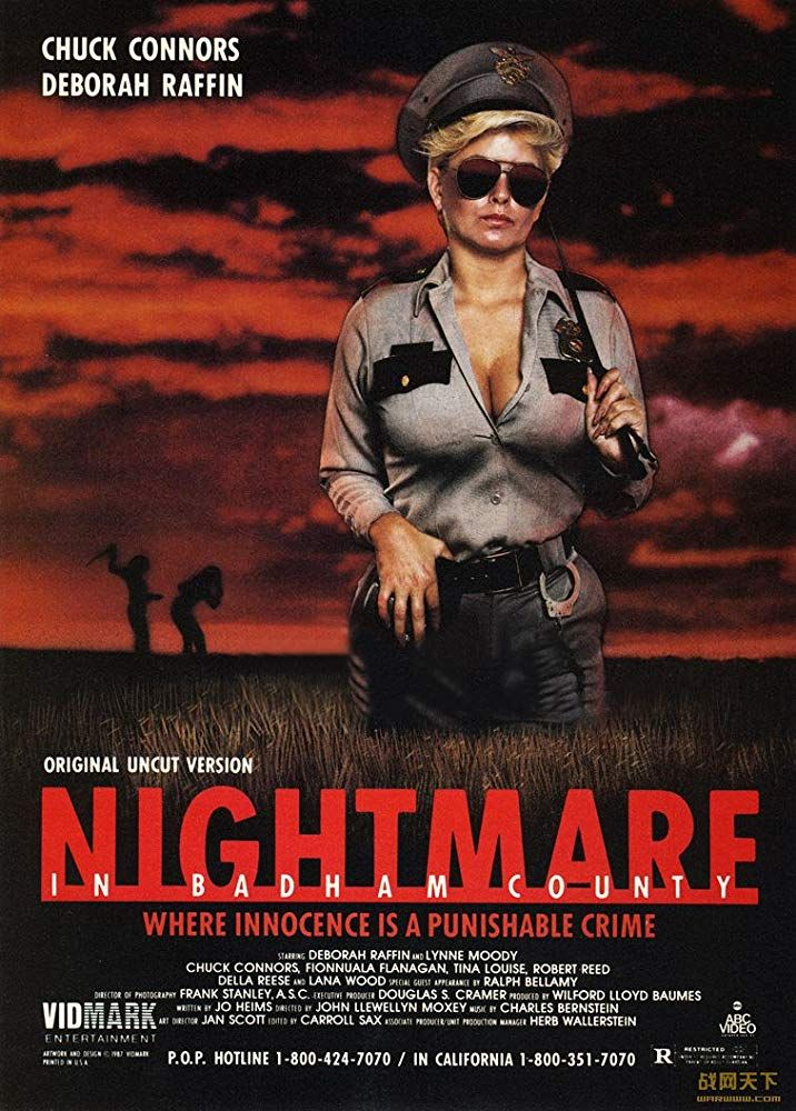 Nightmare In Badham County 1976 Chuck Connors Dvd Chuck