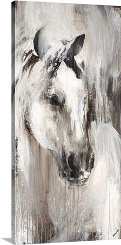 Prairie I by Sydney Edmunds. Shop more horse abstract art at Great BIG Canvas.