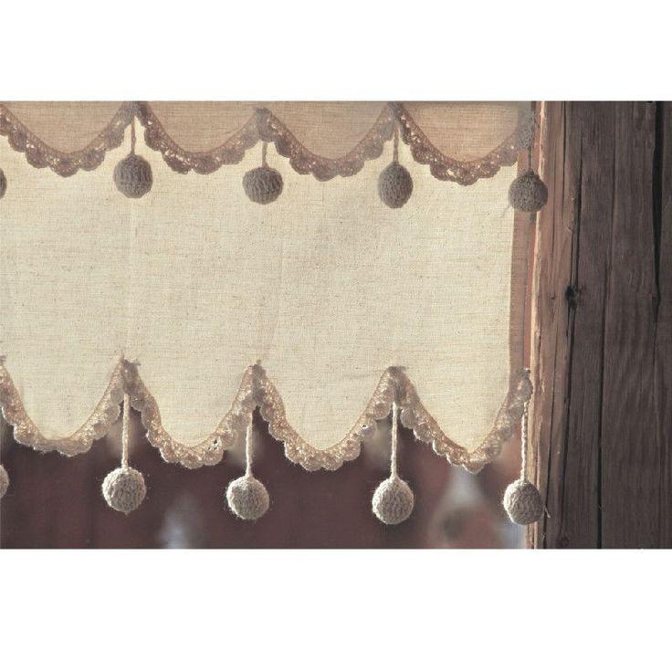 Les 25 meilleures id es de la cat gorie rideaux brise bise sur pinterest brise bise lin - Ruflette vague pour rideaux ...
