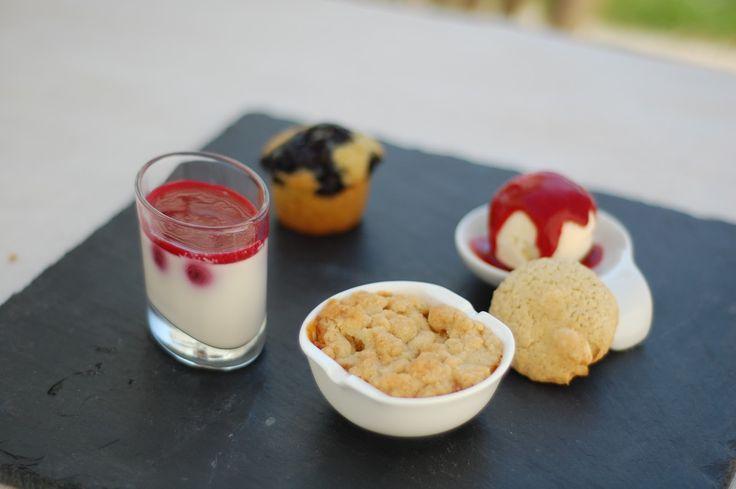 M Kitchen: Café gourmand