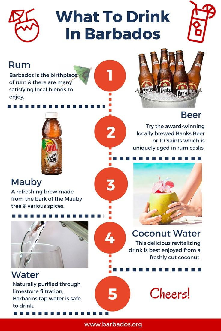 What to drink in #Barbados.... cheers!