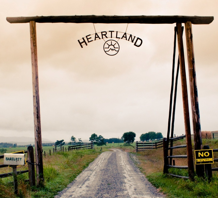 Heartland!!  If this were a real place, I'd go there in a heartbeat.