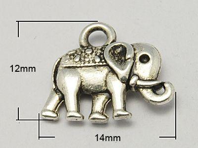 #Jewelry Diamonds Gold Silver Rings Earrings  http://www.planetgoldilocks.com/jewelry.htm  #beads #jewelry #crafts   $2.38  Vintage Elephant Charms Tibetan Style Pendants @PandaHall