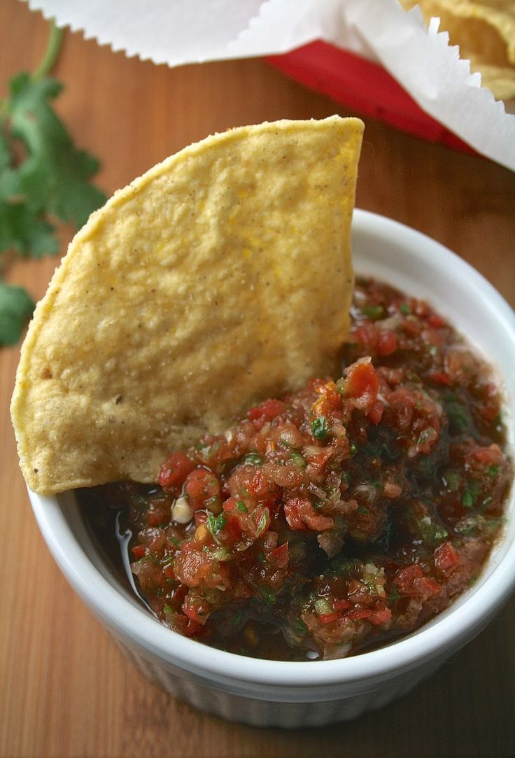 For about 2 years now, the only salsa I've been eating is my Homemade Salsa , or whatever random salsa a Mexican restaurant happened ...