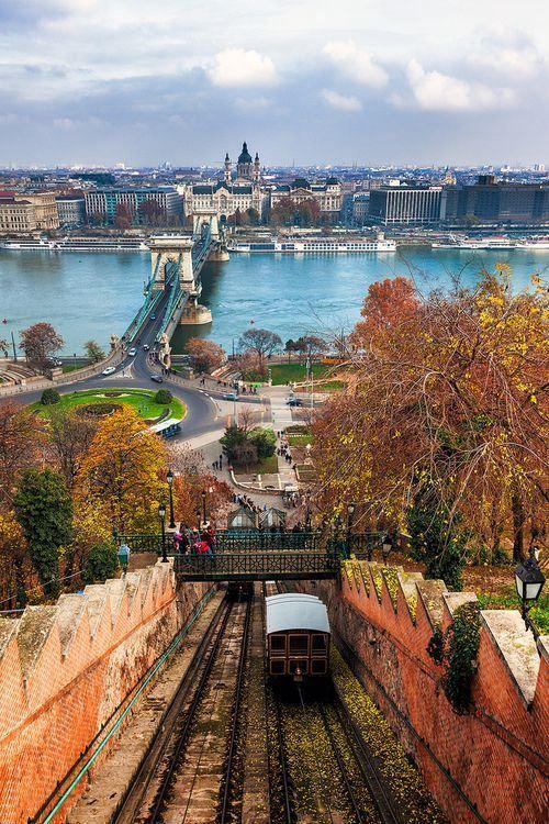 Buda Castle Hill Funicular Budapest, #Hungary #Travel