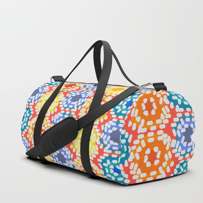 We upped the Duffle Bag game. Your new favorite gym and travel bags feature crisp printed designs on durable poly poplin canvas. Constructed with premium details for ultimate comfort. Available in three sizes. #S6GTP