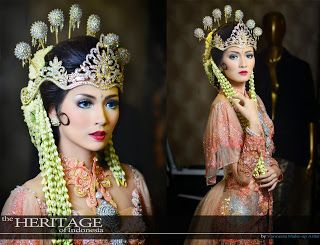 vannesza make up artist Bandung: Wedding Make-Up Sunda Siger