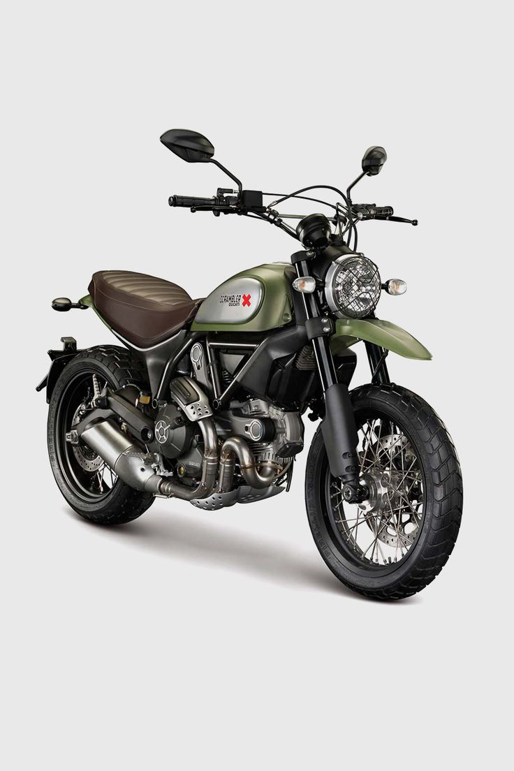 Revealed at last: the new Ducati Scrambler. It's a contemporary interpretation of the iconic Ducati model, as if it had never been out of production. With four models to choose from, 75 bhp and a weight of less than 370 pounds, we're sold. Via the Bike EXIF Instagram: http://instagram.com/bikeexif