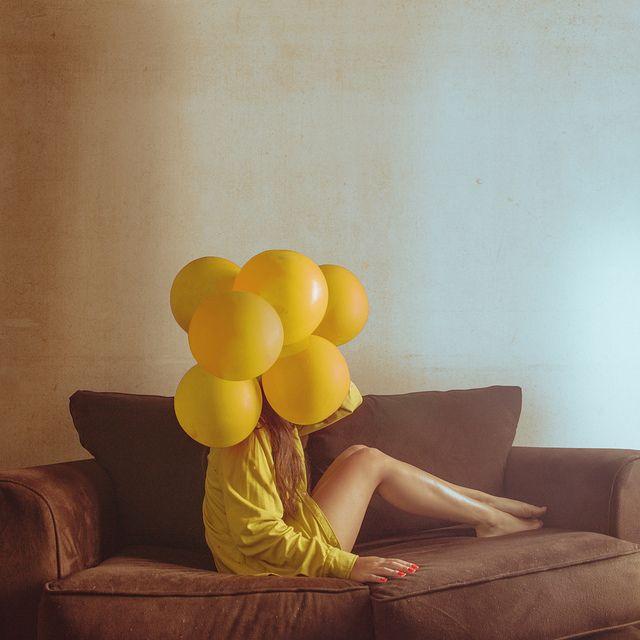yellow bubble