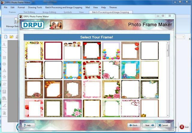 برنامج اطارات الصور Photo Frame Maker Photo Frame Flower Illustration
