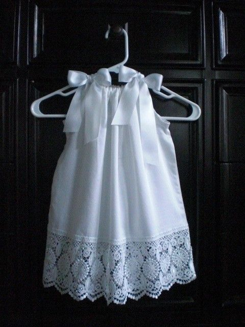 pretty pillowcase dresses...