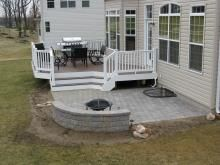 Next summers project. Knocking out the front of the deck and ...