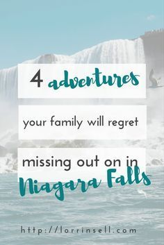 There are so many cool things to do with your family in Niagara Falls, ON. Here… #familyvacationengland