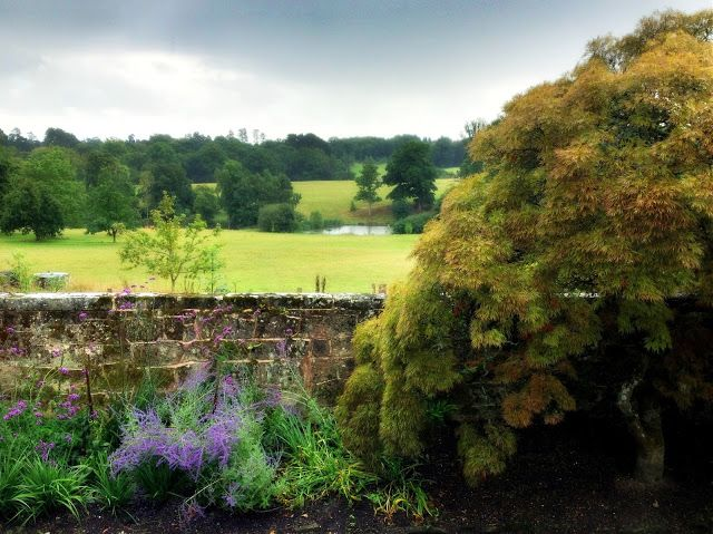 English Garden With A Spectacular View