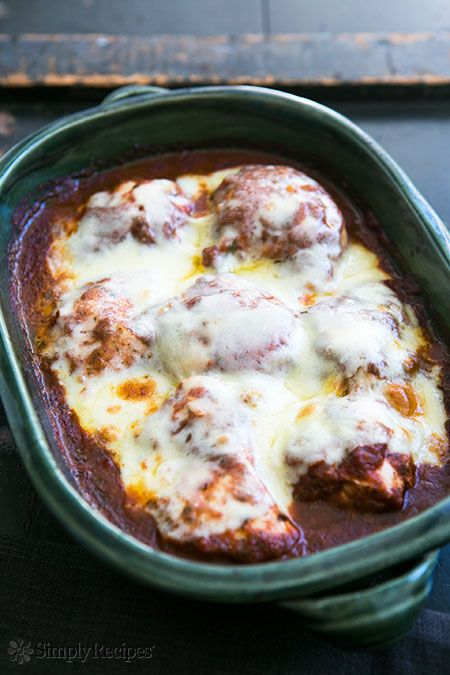 chipotle chile salsa, topped with Monterey Jack cheese and baked ...