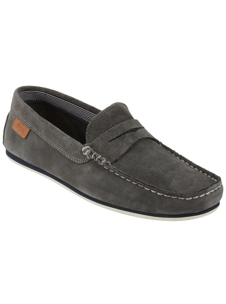 Lacoste Men's Chanler in grey.