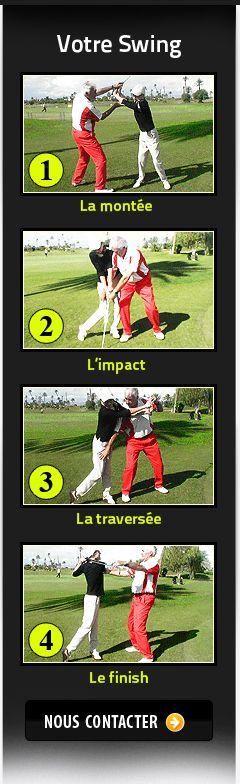 Cours de golf a Marrakech, méthodes modernes américaines.
