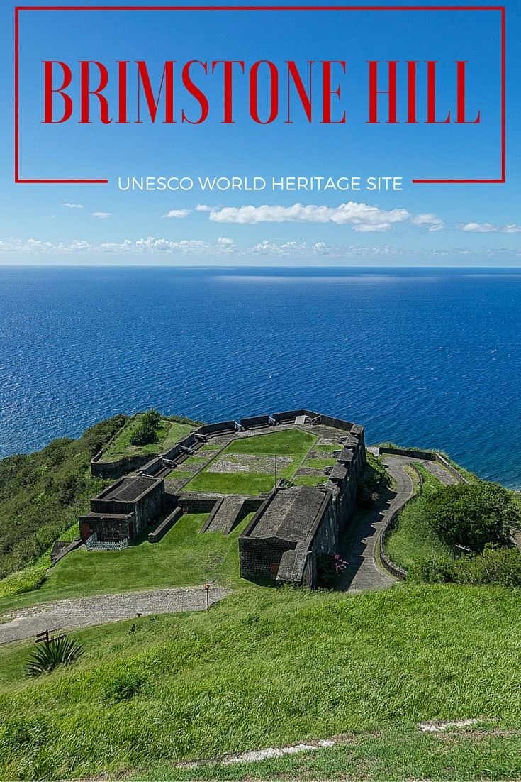 Impressive Brimstone Hill, one of only seven UNESCO World Heritage Sites in the Caribbean, this on St. Kitts.