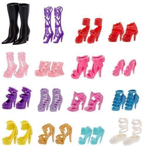 Oferta: 9.99€. Comprar Ofertas de 60 Pares Tacones Sandalias Zapatos para Barbie Muñecas Juguetes Accesorios Estilo Aleatorio barato. ¡Mira las ofertas!