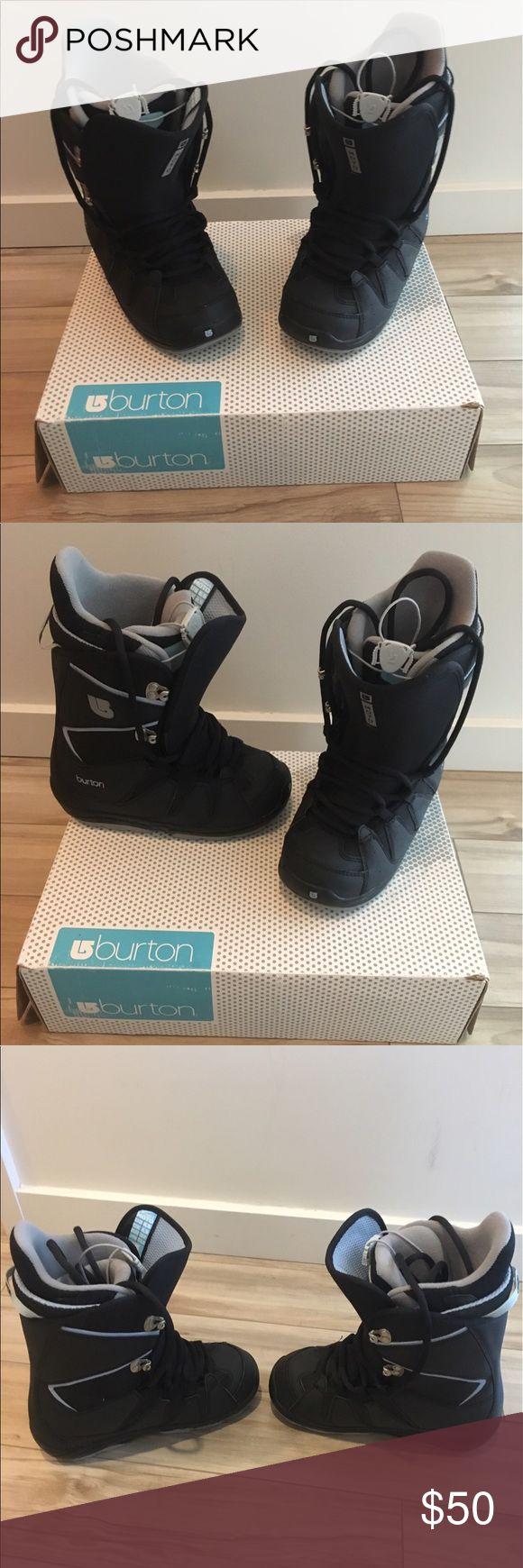 Burton Snowboard Boots Brand new woman's snowboard boots by Burton. Never worn. Burton Shoes Winter & Rain Boots