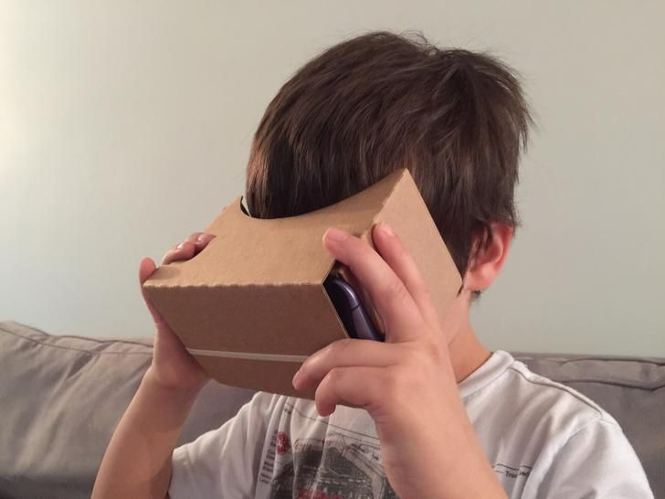 Cardboard for kids: an article about how kids are able to access VR more easily using cardboard viewer; read the comments too for interesting (?) debate.