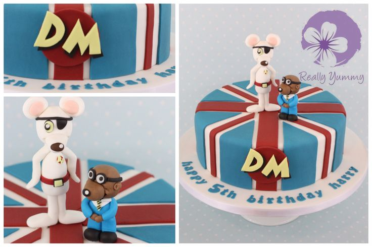 Danger Mouse and Penfold cake