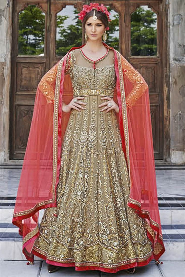 40 best images about designer anarkali dresses by for Floor length kurti