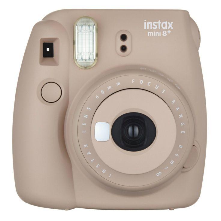 Fujifilm instax mini 8+ Camera - Cocoa (Brown)