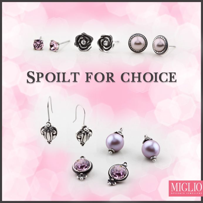 #migliodesignerjewellery introduces our much-anticipated #earring #sets. Get all your favourite styles, available in a full selection of colours.