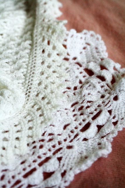 crochet edgings crochet Pinterest