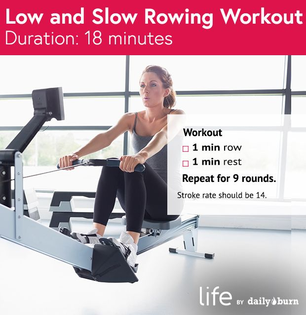 rowing machine workouts