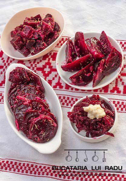 Salata de sfecla rosie coapta cu hrean si chimion. #bucatarialuiradu