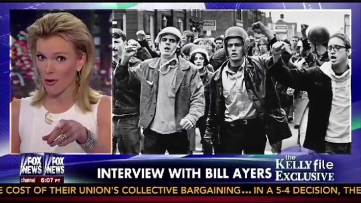 [Full Version Part 1] Fox News Megyn Kelly Interviews Bill Ayers from Weather Underground - Barack Obama's Virulent Antisemitism Was Well Known In Late 1990's Chicago (VIDEO)
