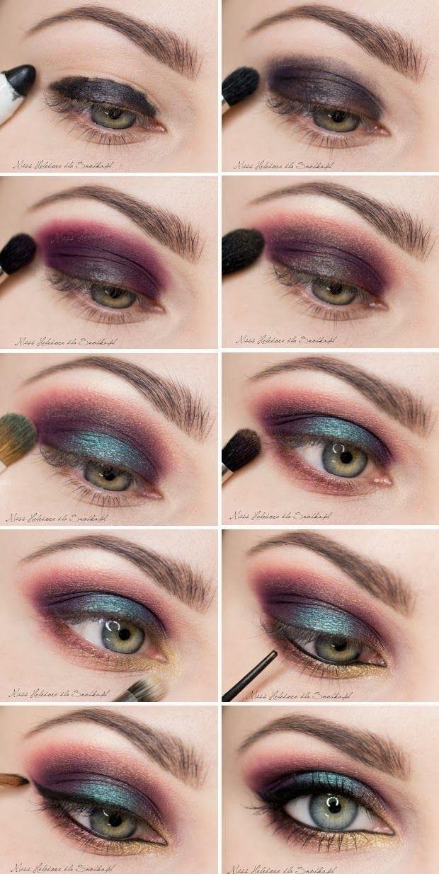 Maquiagem em Dois Tons