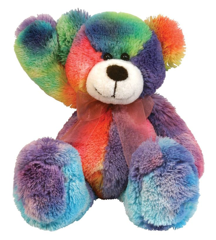 Stephan Baby Soft And Huggable Plush Tie Dye