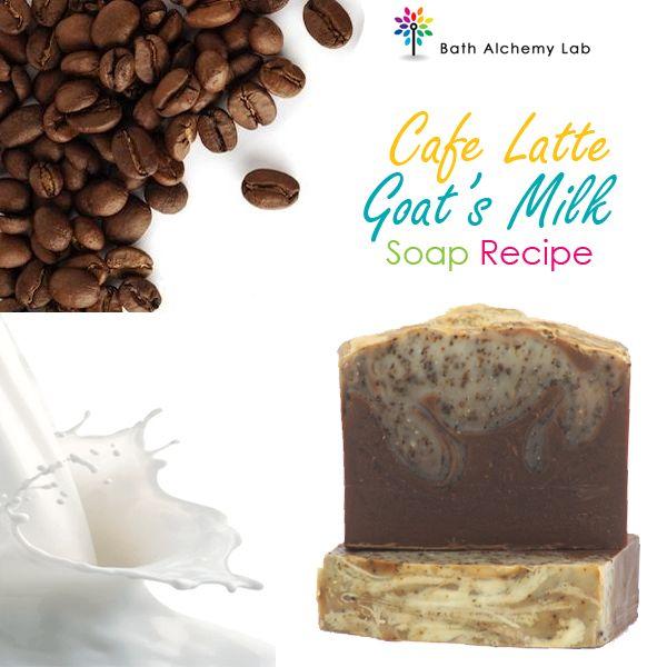 Soap Blog: Cafe Latte Goat's Milk Soap Recipe